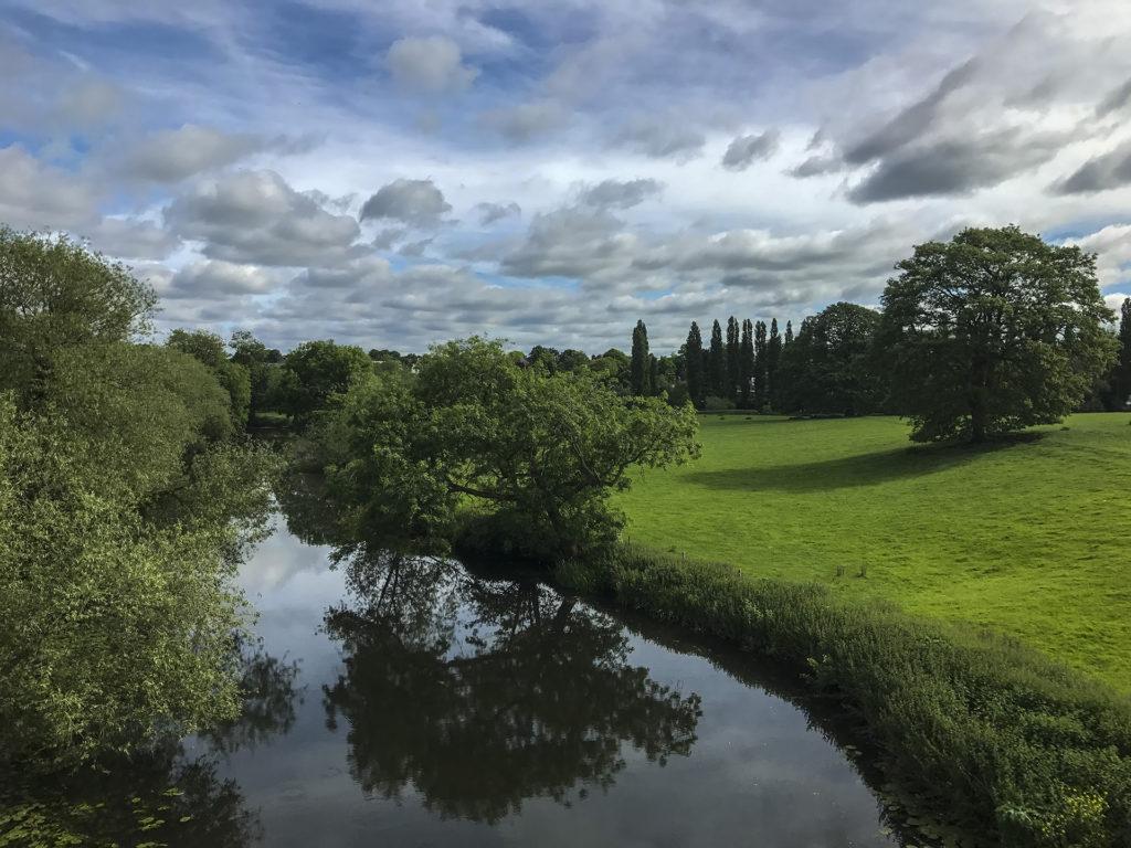 Angliai vidéki táj