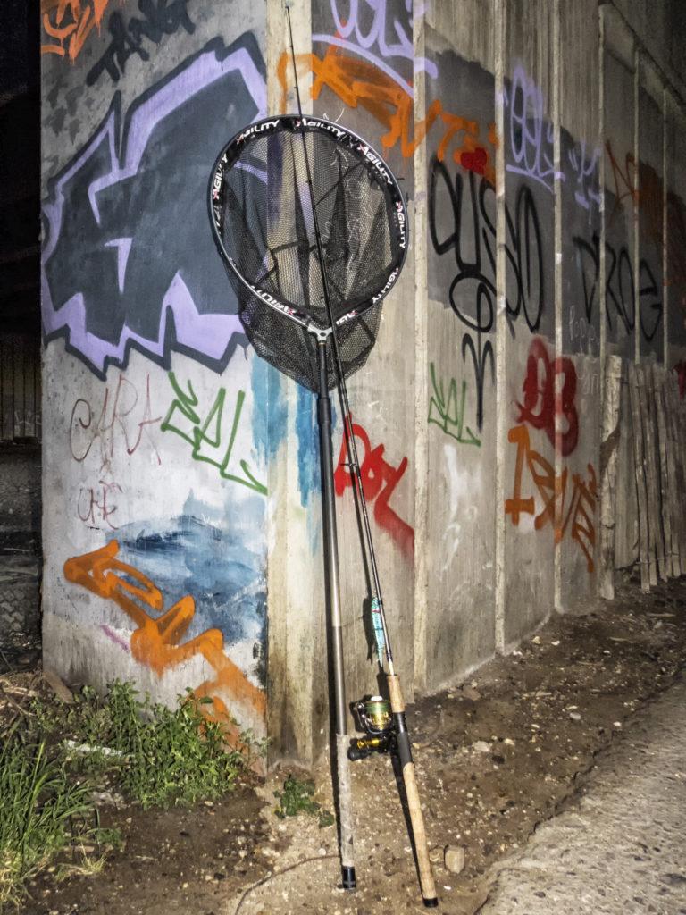 Graffiti és csuka horgászat