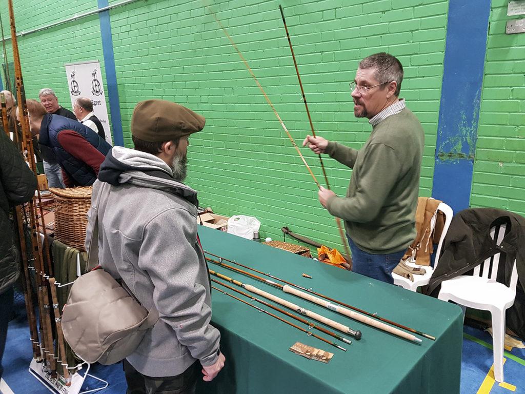 Andrew J Davis, Vintage Tackle Fair, Nádbotok,Tonkinnád,Split cane rod